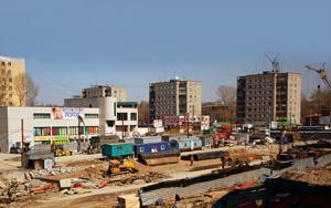Строительство станции метро «Золотая Нива» Новосибирск фото Галины Эрентраут