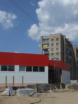 Объект на стадии строительства